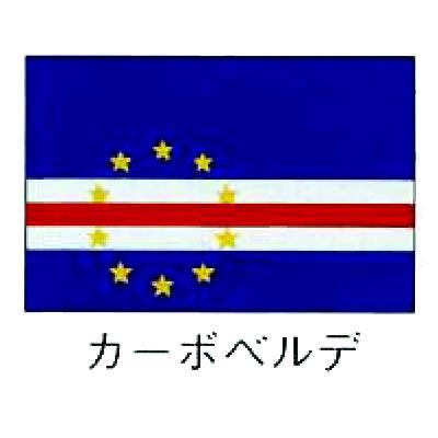 旗 世界の国旗 カーボベルデ 90×135 【 キャンセル/返品不可 】 【 業務用