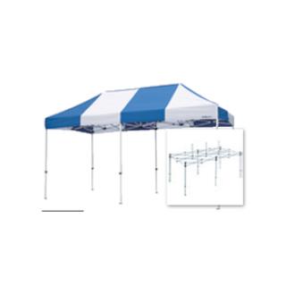 テント複合タイプ:支柱(スチール)・桁フレーム(アルミ)白粉体塗装 F 直送品 別発送品