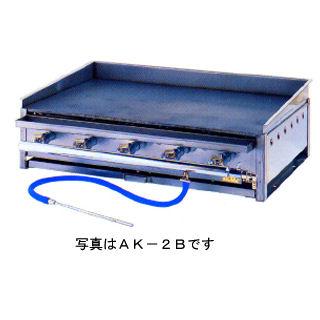 業務用ガス式鉄板焼ガスグリドル 卓上型 バーナー4本タイプ 【 メーカー直送/代引不可 】