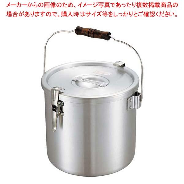 【まとめ買い10個セット品】 アルマイト パッキン寸胴鍋(目盛無)36cm【 運搬・ケータリング 】