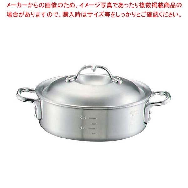【まとめ買い10個セット品】 アルミ ニューキング 外輪鍋(目盛付)27cm