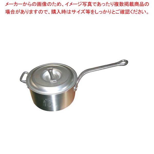 【まとめ買い10個セット品】 アルミ キング 深型 片手鍋(目盛付)27cm【 アルミ片手鍋 片手鍋 アルミ 業務用 】