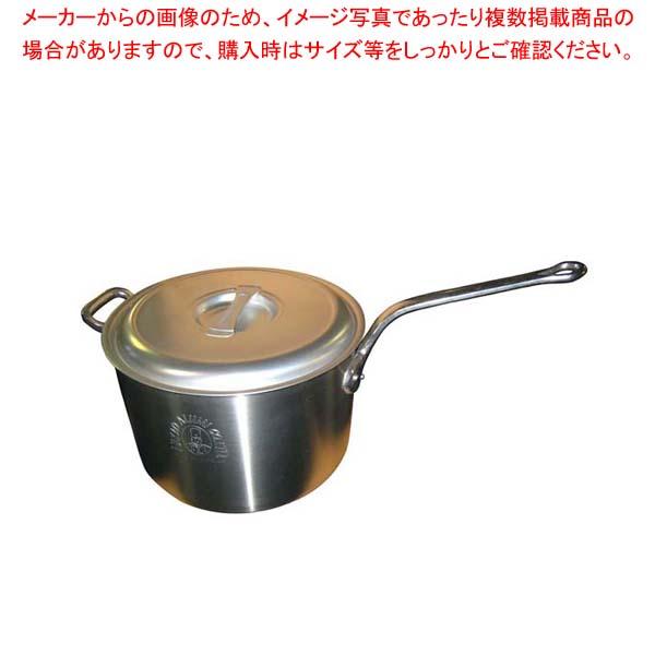 【まとめ買い10個セット品】 アルミ キング 深型 片手鍋(目盛付)36cm【 アルミ片手鍋 片手鍋 アルミ 業務用 】