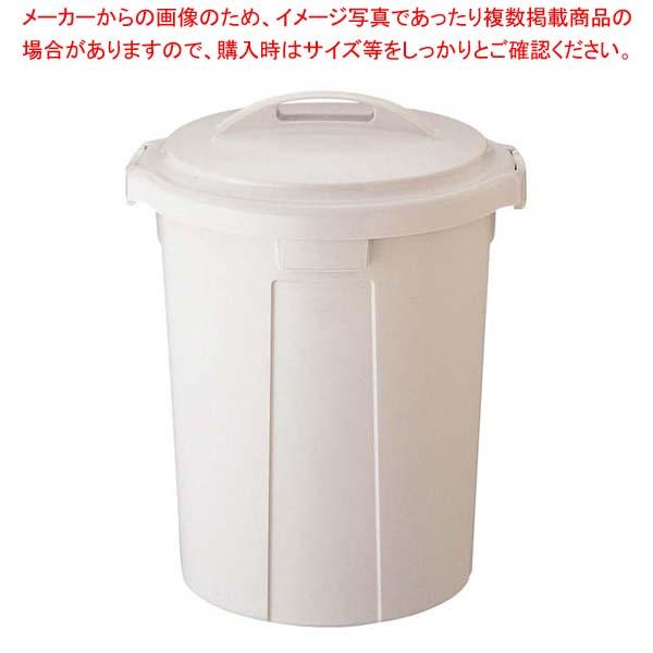 【まとめ買い10個セット品】 ワーク&ワーク 丸型ポリペール 90型 本体【 清掃・衛生用品 】