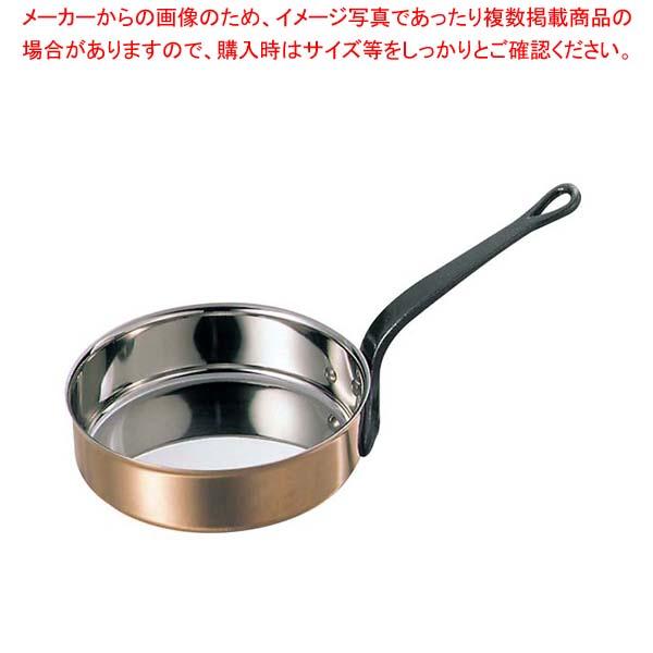 マトファー/ブウジャ ソテーパン 3720-28cm ステン/銅【 ガス専用鍋 】