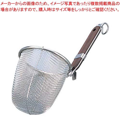 【まとめ買い10個セット品】 MI 18-8 ローズ柄 うどん揚 丸底(φ139)