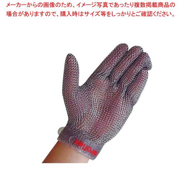 ニロフレックス メッシュ手袋 プラスチックベルト付(1枚)左手用 M【 ユニフォーム 】