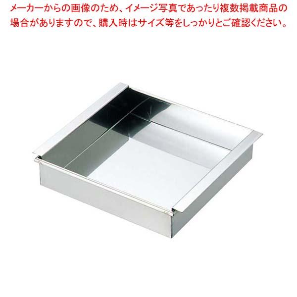 【まとめ買い10個セット品】 EBM 18-8 アルゴンアーク溶接 玉子ドーフ器 関東型 33cm【 おにぎり型・ライス型・押し寿司型 】