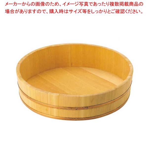 【まとめ買い10個セット品】 EBM さわら 飯台 36cm 7合 銅タガ【 すし・蒸し器・セイロ類 】