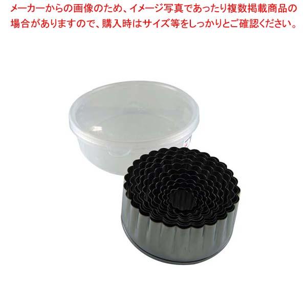 【まとめ買い10個セット品】 EBM 18-0 パテ抜 菊 12pcsセット