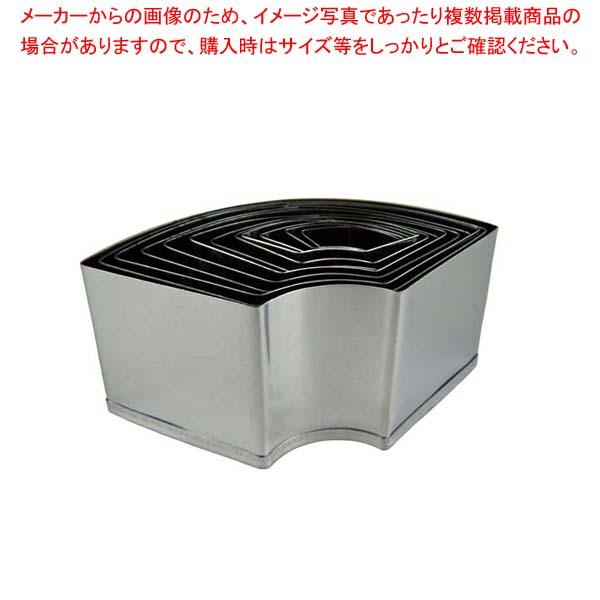 【まとめ買い10個セット品】 EBM 18-0 パテ抜 末広 12pcsセット