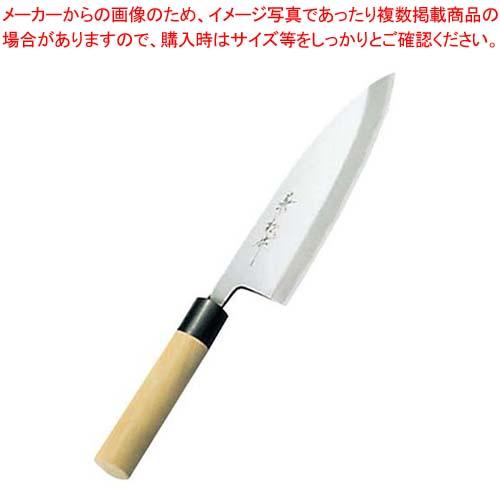 【まとめ買い10個セット品】 兼松作 日本鋼 出刃庖丁 21cm【 庖丁 】