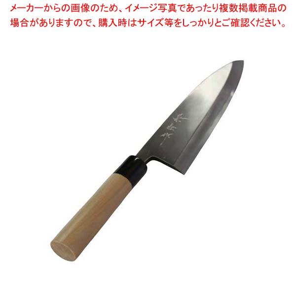 兼松作 日本鋼 出刃庖丁 24cm【 庖丁 】