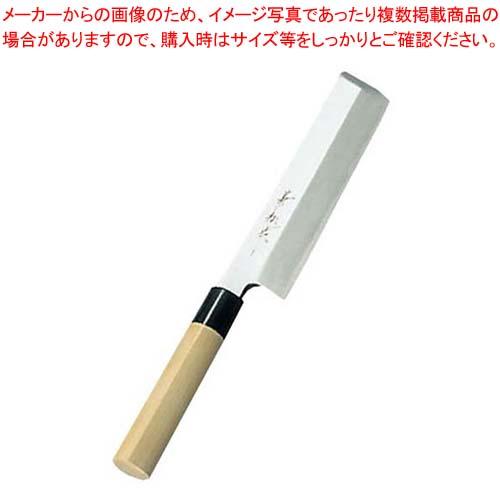 【まとめ買い10個セット品】 兼松作 日本鋼 薄刃庖丁 19.5cm【 庖丁 】