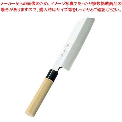 【まとめ買い10個セット品】 兼松作 日本鋼 鎌型薄刃庖丁 24cm【 庖丁 】