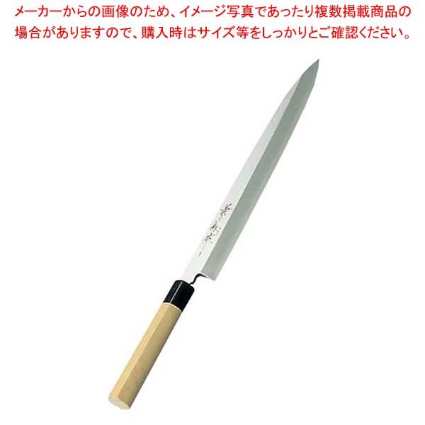 【まとめ買い10個セット品】 兼松作 日本鋼 柳刃庖丁 36cm【 庖丁 】