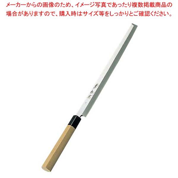 【まとめ買い10個セット品】 兼松作 日本鋼 蛸引庖丁 24cm【 庖丁 】