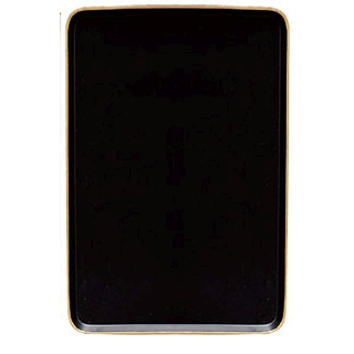 【まとめ買い10個セット品】 陶器 角ケーキトレー EM-16-KS