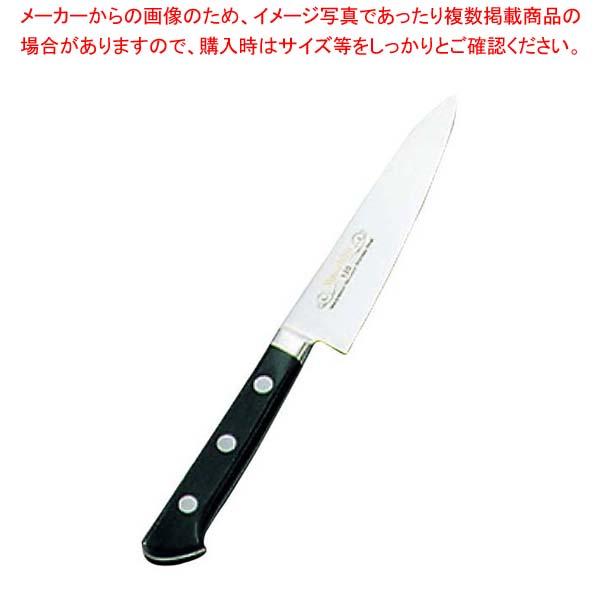 【まとめ買い10個セット品】 正広作 ツバ付 モリブデン鋼 ペティーナイフ 15cm【 庖丁 】