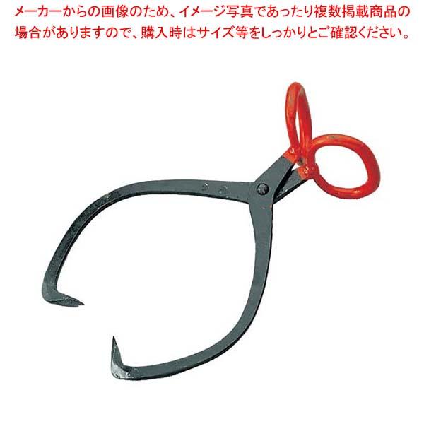 【まとめ買い10個セット品】 鉄 氷バサミ 中 刃の間隔500【 庖丁 】