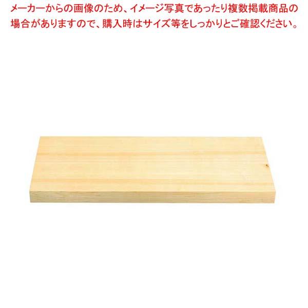 EBM 木曽桧 厚手 まな板 750×390×60【 まな板 檜 業務用まな板 ヒノキ 板 木製 】