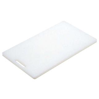 【まとめ買い10個セット品】 白菊 家庭用 プラスチック まな板 小 H-1(370×210)