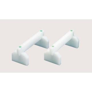 【まとめ買い10個セット品】 EBM プラスチック まな板用足(2ヶ1組)40cm