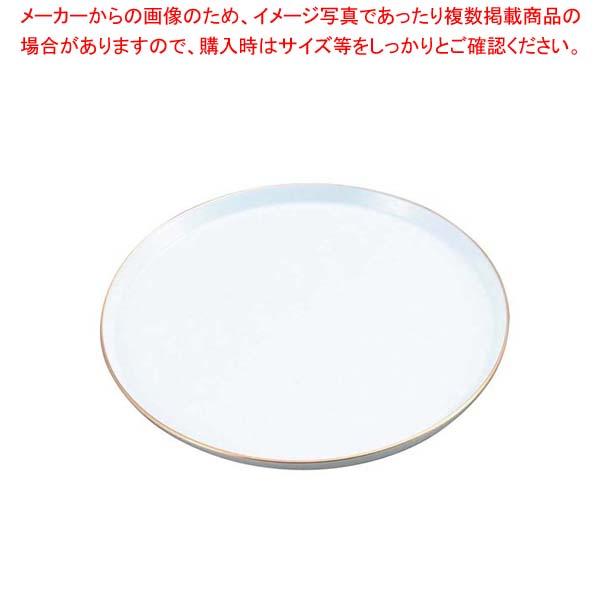 【まとめ買い10個セット品】 陶器 丸ケーキトレー EM-18-WS