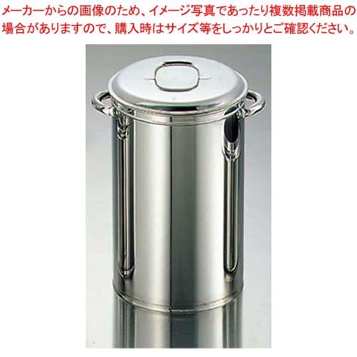 【まとめ買い10個セット品】 EBM 18-8 そばタンポ 深型(φ270×H420)【 うどん・そば・ラーメン 】