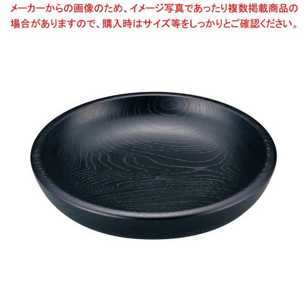 【まとめ買い10個セット品】 木製サラダボール ハーフ 黒 5吋 HF-401【 和・洋・中 食器 】