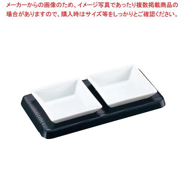 【まとめ買い10個セット品】 黒小皿 SU-112