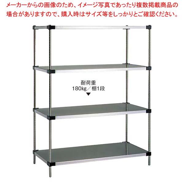 ソリッドエレクターシェルフ 4段 P1390×LSS1220 sale【 メーカー直送/代金引換決済不可 】