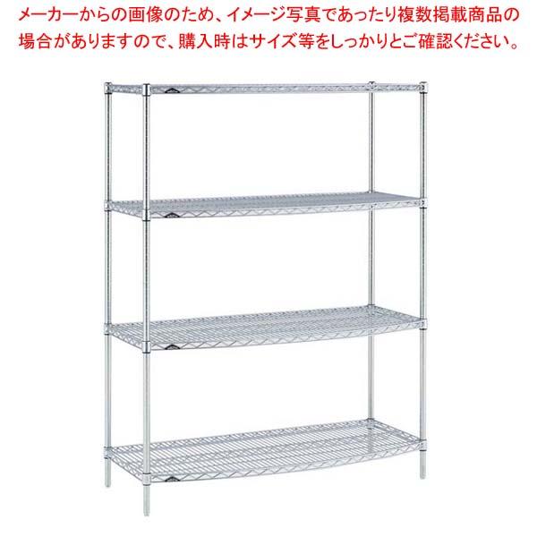 ラウンドエレクターシェルフ 4段 P1900×MS1220R sale【 メーカー直送/代金引換決済不可 】