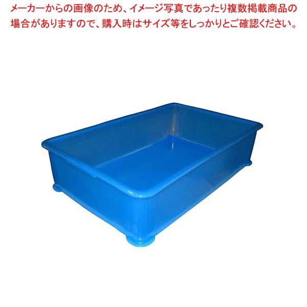 【まとめ買い10個セット品】 EBM PP半透明カラー番重 A型 大 ブルー(サンコー製)【 運搬・ケータリング 】 【 バレンタイン 手作り 】