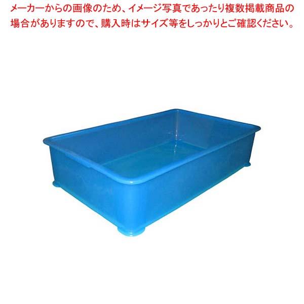 【まとめ買い10個セット品】 EBM PP半透明カラー番重 A型 特大 ブルー(サンコー製)【 運搬・ケータリング 】 【 バレンタイン 手作り 】:厨房卸問屋 名調
