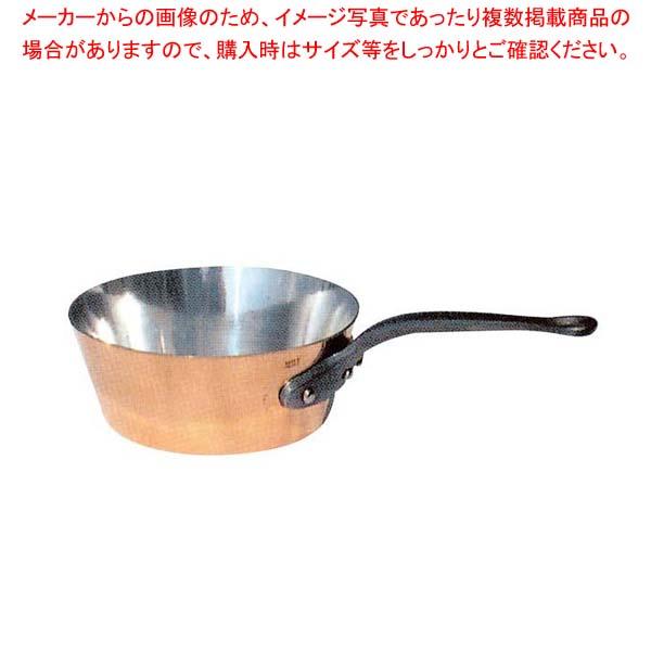 ムヴィエール カパーイノックス テーパーパン 6503-24cm【 ガス専用鍋 】
