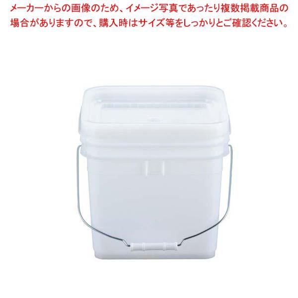 【まとめ買い10個セット品】 トスロン 角型 密閉容器 10L(ナチュラル・ソフト)