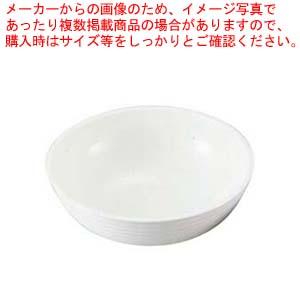【まとめ買い10個セット品】 キャンブロ 丸型リブド サラダボール RSB8CW(148)ホワイト【 和・洋・中 食器 】