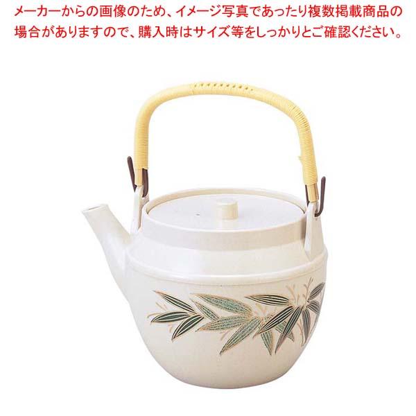 【まとめ買い10個セット品】 耐熱急須 志野二色笹 大 1.8L 1-828-14
