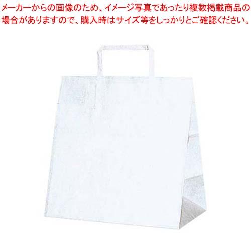 【まとめ買い10個セット品】 手堤袋 H25チャームバッグ E(平手)50枚入 白無地【 厨房消耗品 】