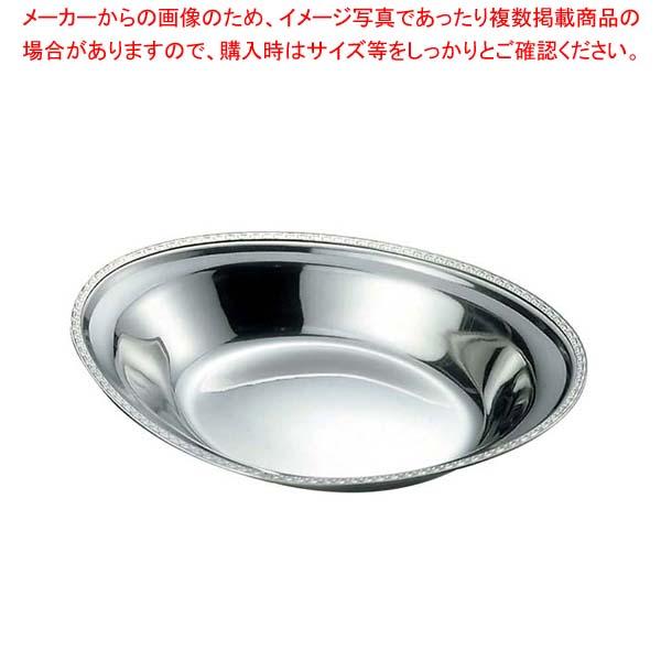 【まとめ買い10個セット品】 IKD 18-8 さざ波 ベーカー皿 10.5インチ