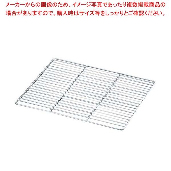 【まとめ買い10個セット品】 EBM 18-8 ケーキクーラー角型足無 大 600×400