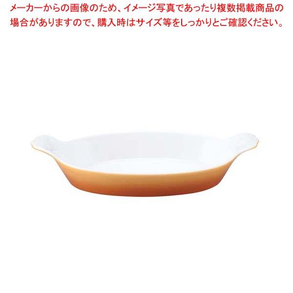 【まとめ買い10個セット品】 シェーンバルド オーバルグラタン皿(手付)9022228 茶【 オーブンウェア 】