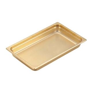 【まとめ買い10個セット品】 EBM 18-8 ガストロノームパン(金メッキ付)1/3-20mm