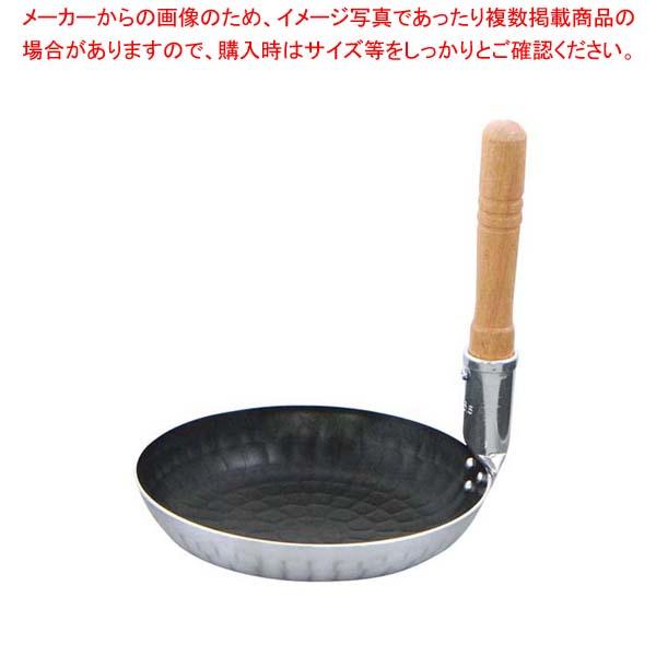 【まとめ買い10個セット品】 アルミ 打出 親子鍋(フッ素樹脂加工)深型 中(内径165)