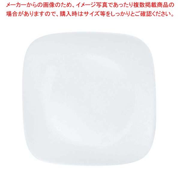 【まとめ買い10個セット品】 コレール ウインターフロストホワイト スクエア小皿 J2206-N CP-8903