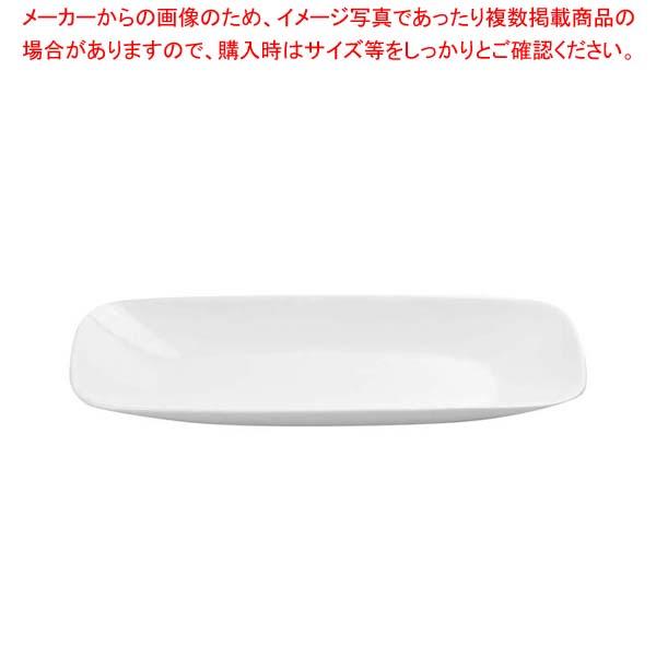 【まとめ買い10個セット品】 】 スクエア長皿 和・洋・中 コレール CP-8907【 ウインターフロストホワイト J2210-N 食器
