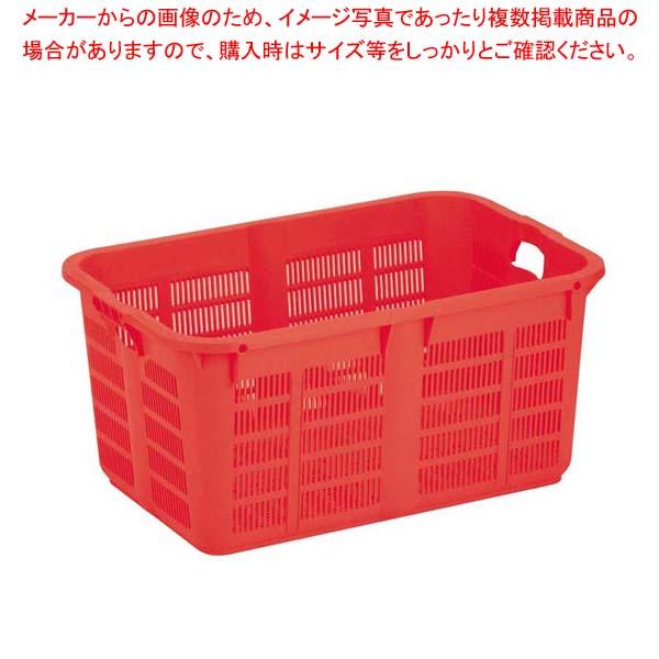 【まとめ買い10個セット品】 リス プラスケット No.800 レッド【 運搬・ケータリング 】