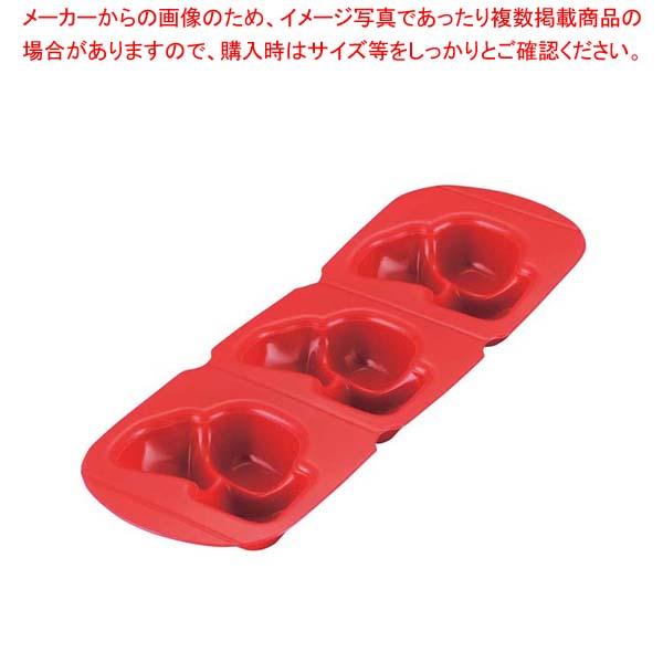 【まとめ買い10個セット品】 アサヒ ソフト食シリコン型 煮物型 ASN-R(レッド)
