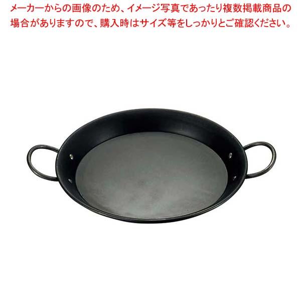 【まとめ買い10個セット品】 鉄 パエリア鍋 32cm【 鉄 パエリア鍋 フライパン 業務用 】